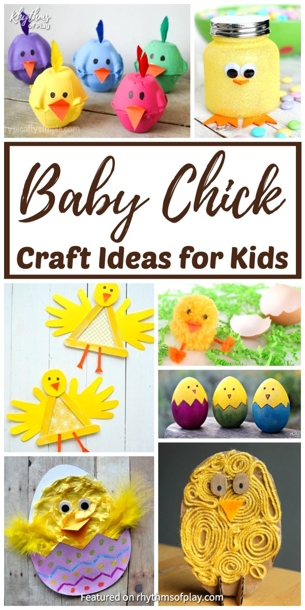 cute baby chick craft ideas