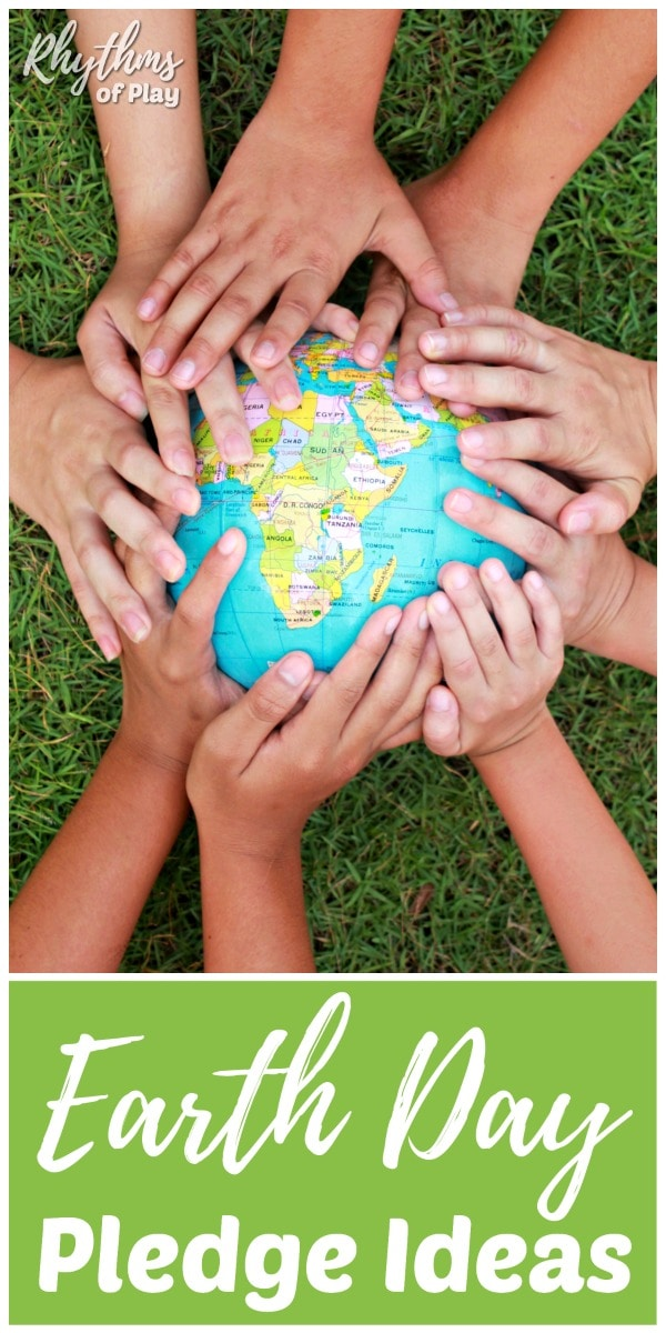 Ideas to make an Earth day pledge