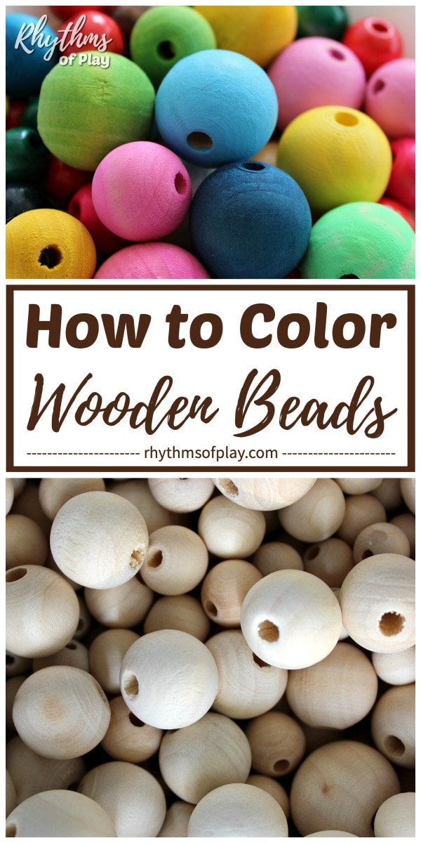 how to color wooden beads 3 easy methods to dye wooden beads