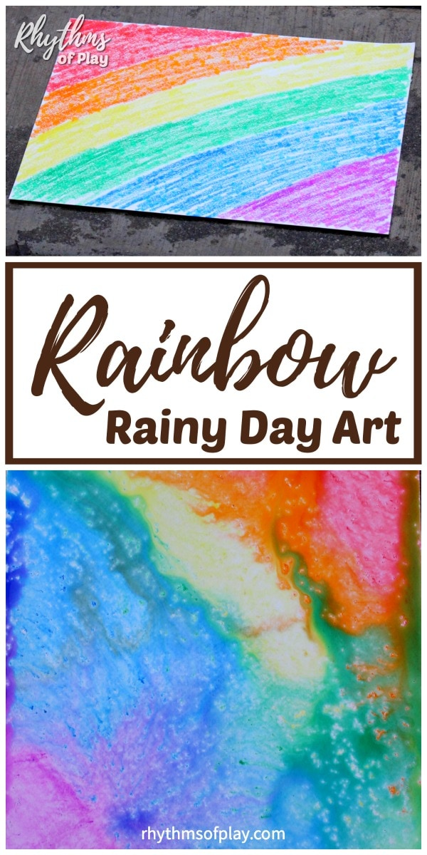 Rain Art STEAM Projects for kids
