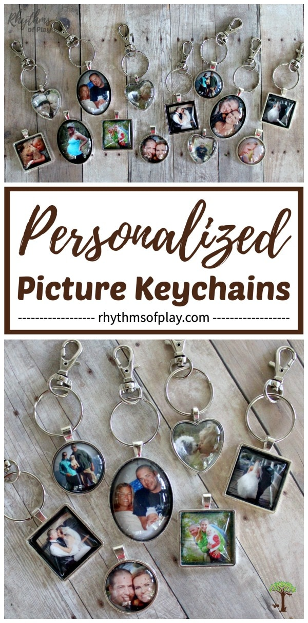 Personalized Picture Keychain Photo Charms Tutorial Rhythms Of Play