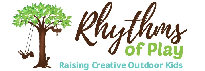 rhythms of play logo with text