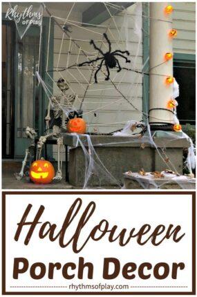 Halloween decoration outdoor - Halloween porch decor