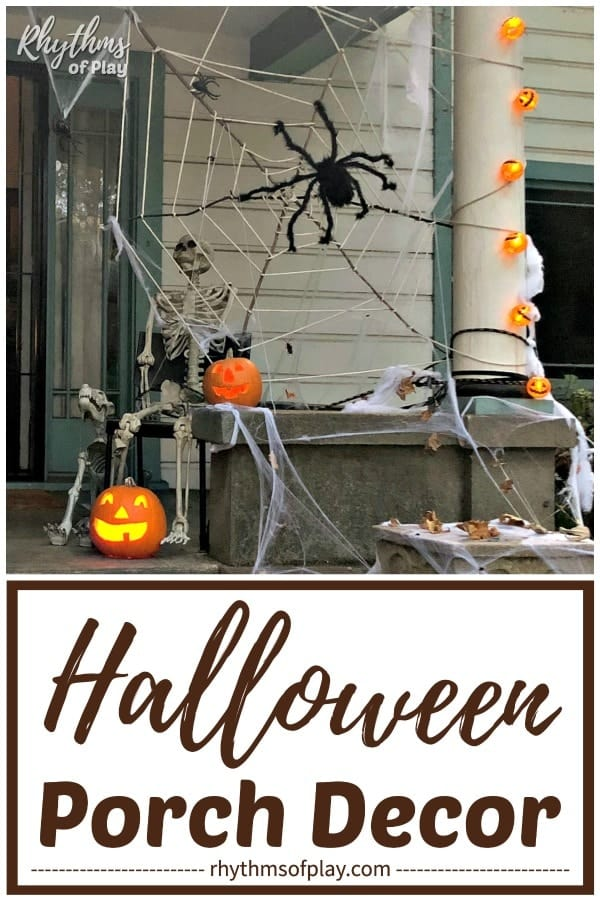 Halloween decoration outdoor - Halloween porch decor