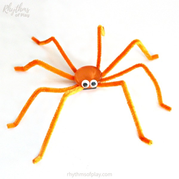 Halloween spider craft for kids to make