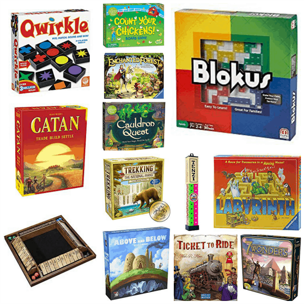square image of best family game ideas included in this round-up