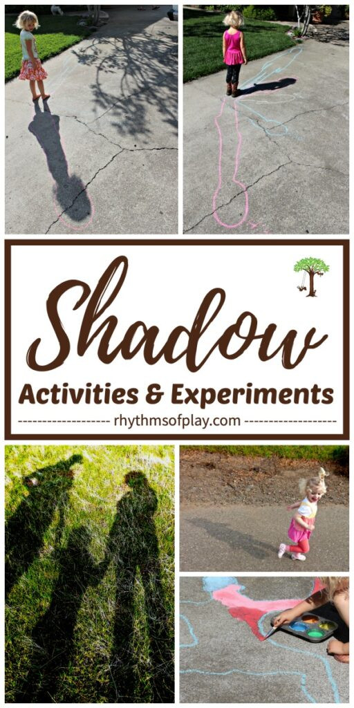 Fun and educational shadow activities and science experiments for toddlers, preschoolers, kindergarteners and kids of all ages