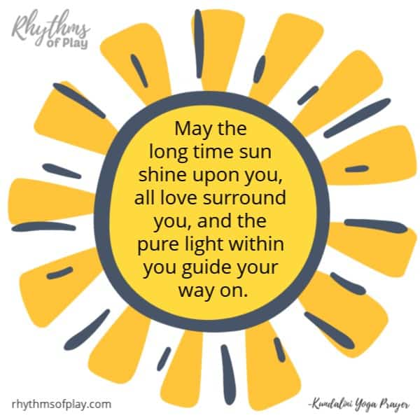 May the long time sun shine upon you all love surround you and the light within you guide your way on.