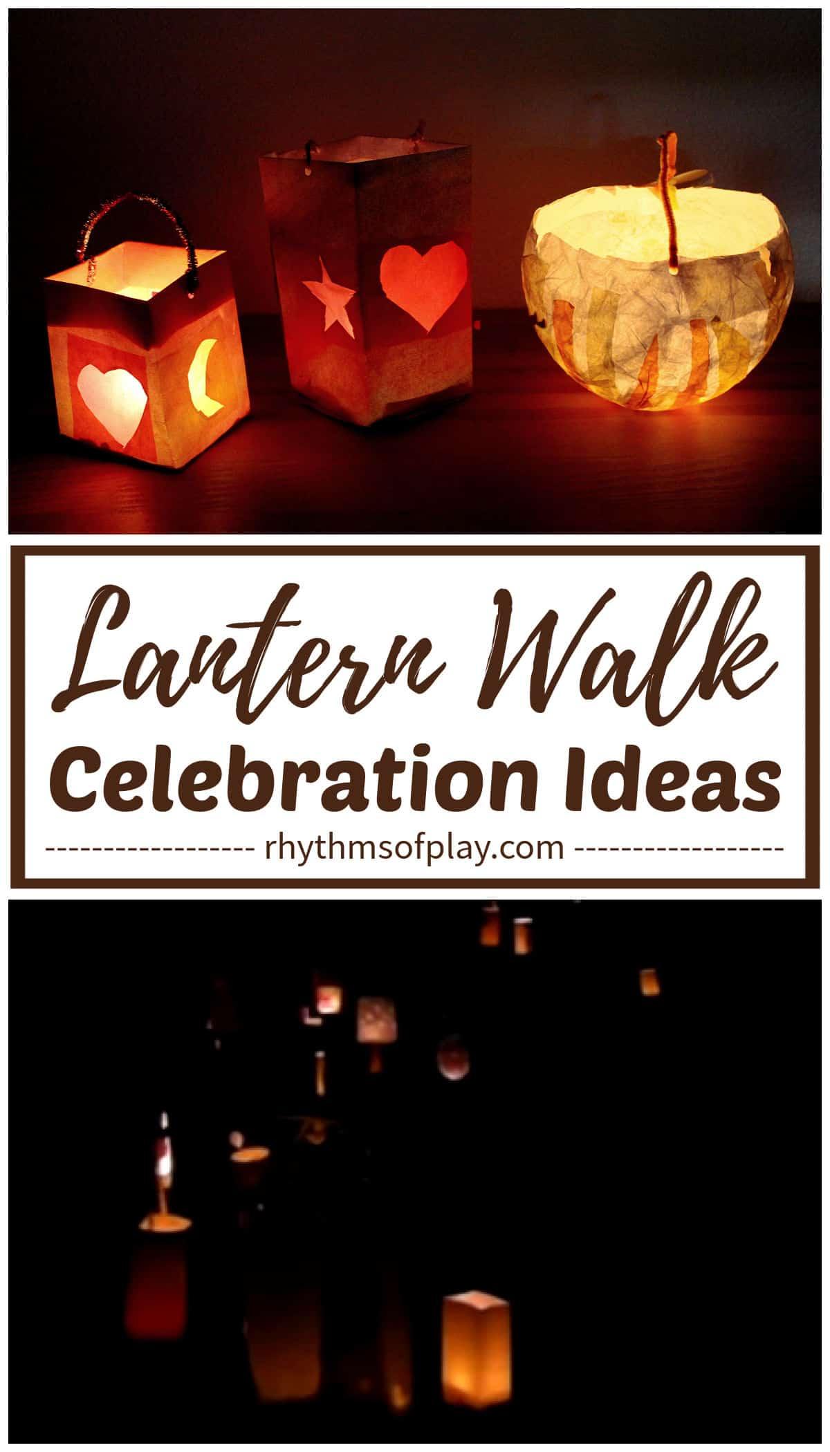 Lanterns for Waldorf Martinmas lantern walk festival