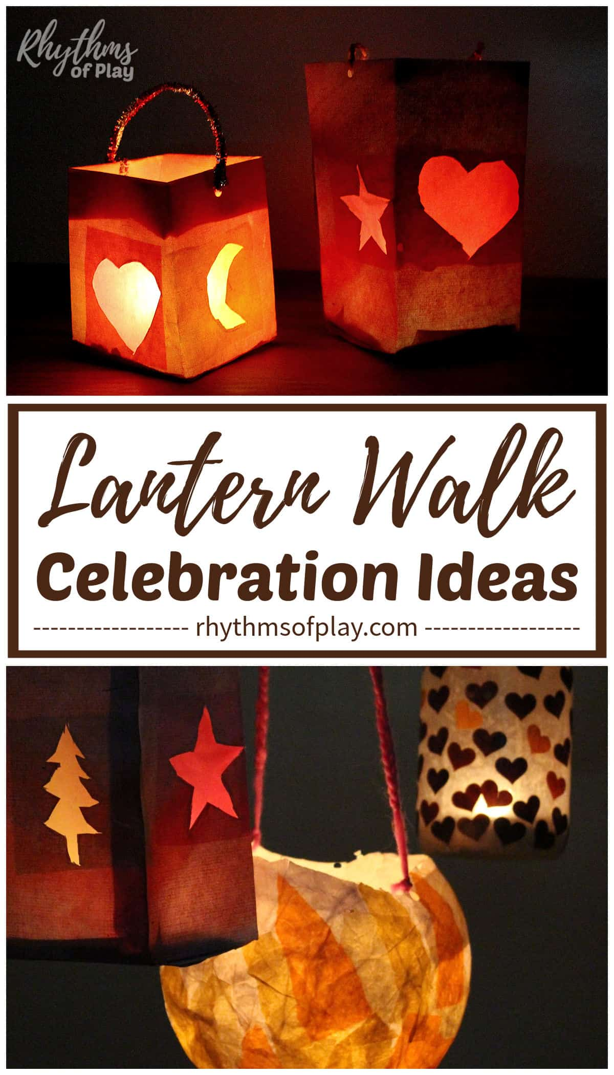Waldorf lantern craft ideas for Martinmas lantern walk.