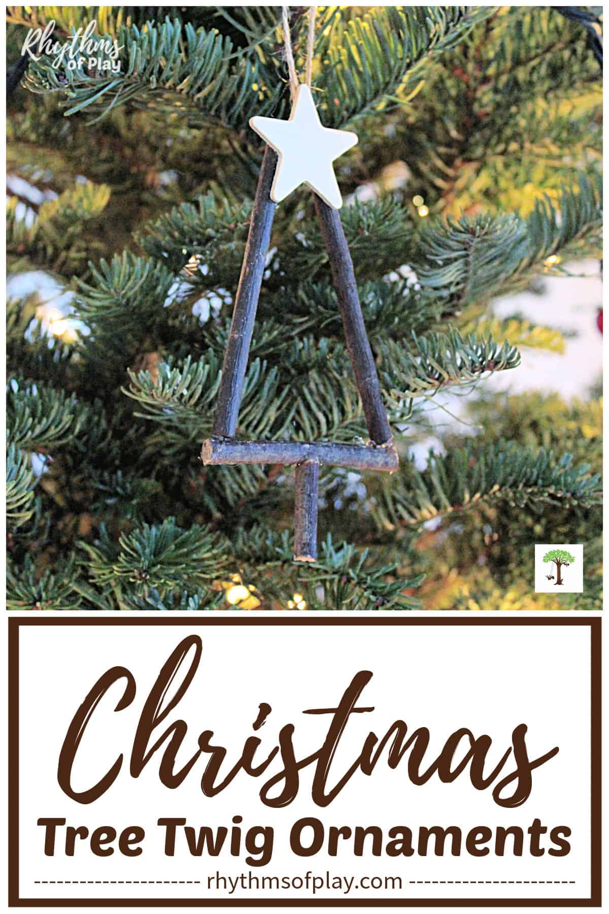 Christmas Tree Twig Ornaments Craft Rhythms Of Play