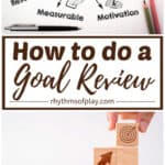 goal review steps to take