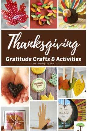 pictures of Thanksgiving gratitude crafts and activities